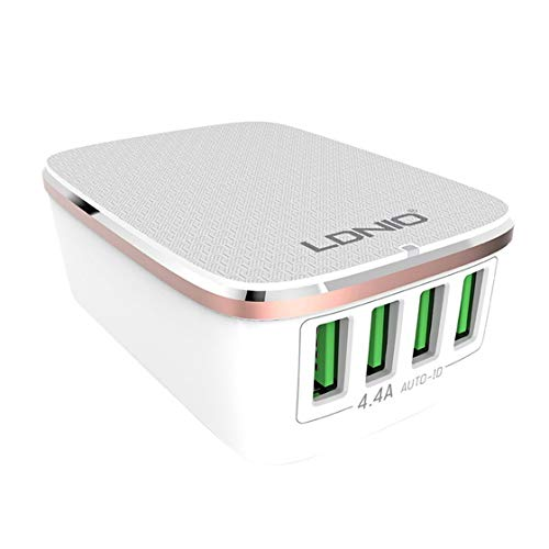 A4404 Multi Port USB Schnellladegerät Kopf 4.4A Schnellladung Ladegerät Reise Telefon Ladegerät Handy Adapter Für Android/IOS
