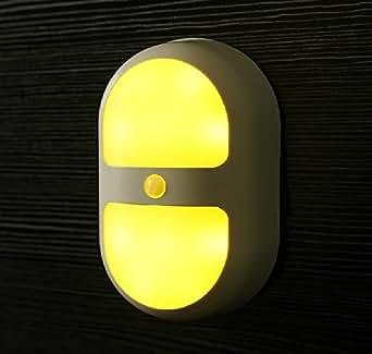 dlll 10LED 0,7W Applique murale Lampe Lumière Blanc Chaud Capteur infrarouge corps humain Induction Night Light lampe de chevet armoire lampe détecteur de mouvement sensibles induction Mini LED sans fil à n'importe où Night Lights Corps Humain Capteur de lumière contrôle de la lumière Applique Chambre Mouvement Nuit Lumière Livré