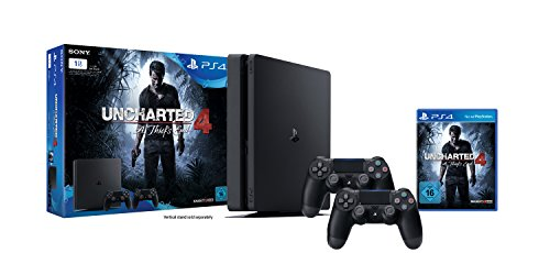 playstation-4-konsole-1tb-schwarzslim-inkl-uncharted-4-2-dualshock-4-controller