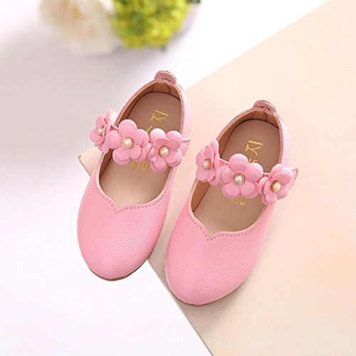 Bescita Kinder Schuhe Mädchen Mode Blume Kind Schuhe solide All Casual Schuhe passen Rosa