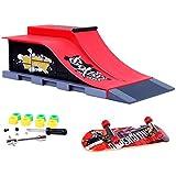 Juguete Hogar Dedos Mini Juegos de Skate Y de Rampa Establecer E #
