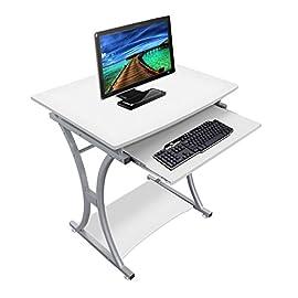 Truciolare Scrivania per computer Scrivania per PC Tavolo per computer portatile Apprendimento Scrivania Scrivania Tavolo da gioco da pranzo per ufficio a casa 116x 7 Stazioni di lavoro per computer