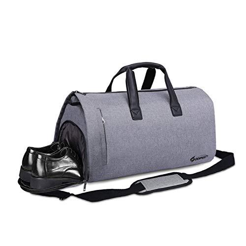 DESPERT anzugstasche, anzug reisetasche kleidersack reisetasche anzugbeutel umhängetasche für männer über nacht flug wochenende Business Suit Cover Aufbewahrungstasche