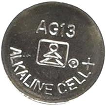 AG13-357 - LR44: Pila botón para relojes y linternas, paquete de 10