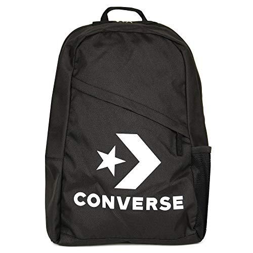 Converse Speed Backpack Rucksack Unisex Star Chevron Schwarz 10008091, Farbe:Schwarz -