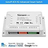 Sonoff Smart WiFi Wireless Switch 10A 2200W for Home Automation Android and iOS