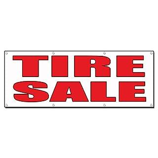 Tire Verkauf Auto Body Shop Auto Repair 13Oz Vinyl Banner Schild mit Tüllen 4 Ft X 8 Ft