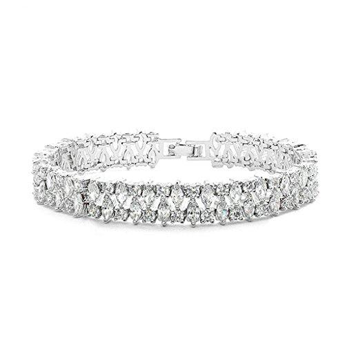 daesar-gold-plated-bracelets-womens-charm-bracelet-white-cz-bracelet-marquise-bracelet-for-women-len