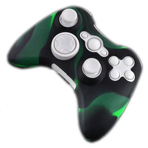 Silikonhülle für Xbox 360 Wireless Controller - Toxic Camo - Wireless Controller Camo Xbox 360