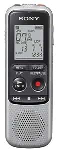 Sony ICD-BX132.CE7 Dictaphones Type de Stockage: Mémoire Interne, Activation Vocale, Enregistreur MP3Gris