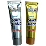 VR Creatives Sona Chandi Holi Magic Paste Holi Colors Pack of 2 (Sliver, Golden)