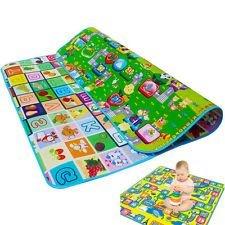 Waterproof Double Side Baby Play Crawl Floor Mat (Large)