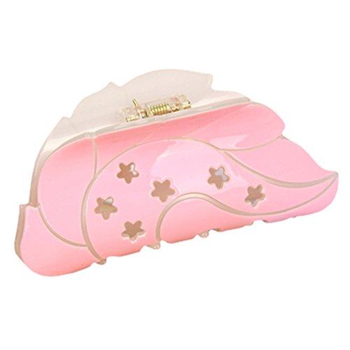 Beau beau mariage accessoires cheveux clips pour Pink Ladies Feuille
