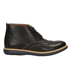 Clarks Mens Flexton Mid Black Boots - 10.5 UK/India (45 EU)