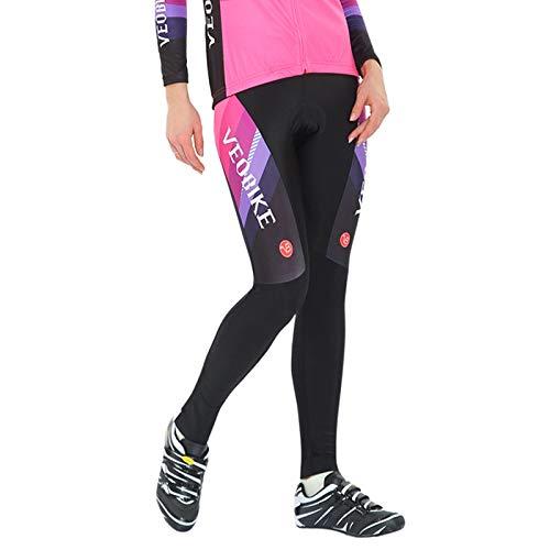 SonMo Damen Fahrradanzug Sportbekleidung Fahrrad Trikot Reitanzug Mountain Biking Anzug Radtrikot Jersey Fahrradkleidung Fahrradshirts Fahrradhosen Radhose mit Sitzpolster Rot M -