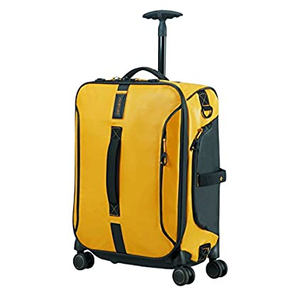 SAMSONITE Paradiver Light – Spinner Duffle Bag 55/20 Bolsa de viaje, 55 cm, 50 liters, Amarillo (Yellow)