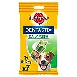 Pedigree Denta Stix Fresh Hundeleckerli für kleine Hunde, Kausnack gegen Zahnsteinbildung, Für gesunde Zähne und einen frischen Atem, 1er Pack (1 x 10 Pack)