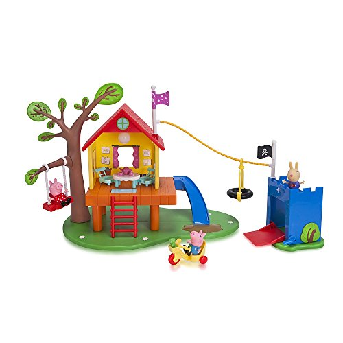 Nick Jr. Peppa Pigs Treehouse and Georges Fort Playset (Jr Nick Peppa Pig)