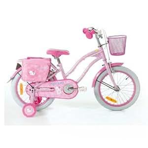 hello kitty kinder fahrrad 16 zoll mit liebevollen. Black Bedroom Furniture Sets. Home Design Ideas