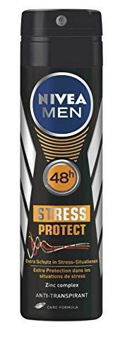 Nivea Men Stress Protect Anti-Transpirant Deo-Spray, 4er Pack (4 x 150 ml)