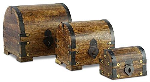 Cofre-del-Tesoro-Pirata-para-Almacenamiento-por-Thunderdog-Construccin-de-Bal-de-madera-maciza-Metal-Resistente-Diseo-de-poca-nico-Hecho-a-Mano-Con-Cerradura-Frontal-Tamao-Llamativo-Elemento-Decorativ