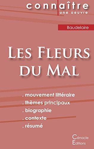 Fiche de lecture Les Fleurs du Mal de Baudelaire (Analyse littéraire de référence et résumé complet)