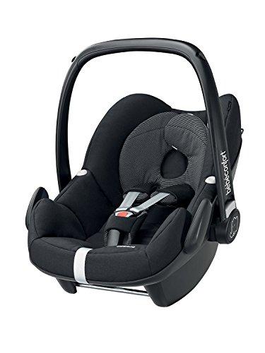 Bébéconfort, Seggiolino auto per bambini, Gruppo 0+, Nero (Black Raven)