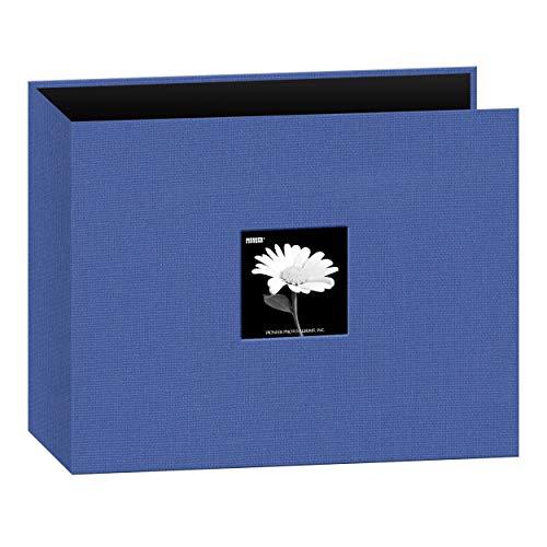 Pioneer 12x 12Zoll Stoff 3Ring Binder Album, blau (Blau D Ring Binder)