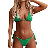 Darringls Costumi da Bagno, Bikini Donna Bikini a Triangolo Costumi Mare Interi Taglie Forti Costumi Donna Mare Due Pezzi Brasiliana Push Up Bikini Sexy a Due Pezzi