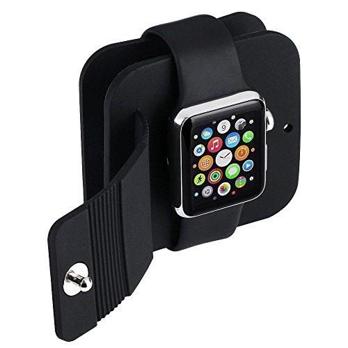 Kobwa Aufbewahrungsbox Halterung Anti-Kratzschutz für Apple Watch Sport Edition (38mm & 42mm)