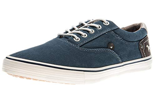 MUSTANG Shoes Sneaker in Übergrößen dunkelblau 4101-301-800 große Herrenschuhe, Größe:50