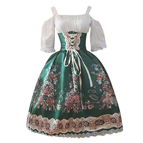 Renaissance Maiden Für Erwachsene Kostüm - Allence Damen Viktorianisches Rokoko-Kleid, Inspiration Maiden
