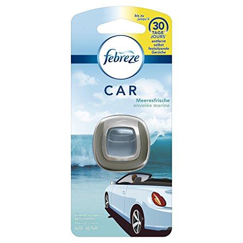 Febreze Meeresfrische Auto-Lufterfrischerclip, 3er Pack (3 x 1 Stück)