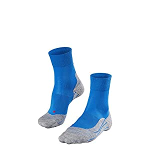 FALKE Damen RU4 Running Socken Laufsocken – Baumwollmischung, 1 Paar, versch. Farben, Größe  35-42 – Feuchtigkeitsregulierend, schnelltrocknend, mittelstarke Polster