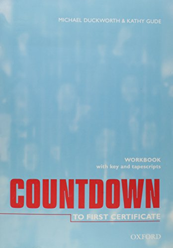 Countdown to first certyfication Workbook with key + KA (Countdown To First Certificate)