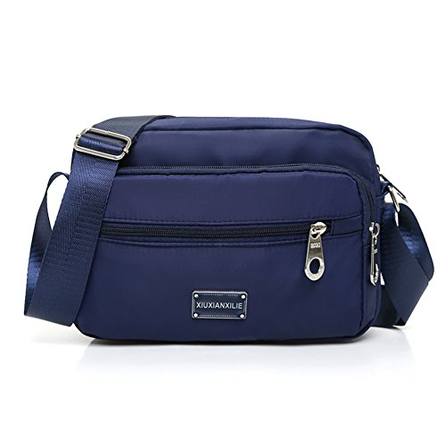 panno signora Messenger Bag in Oxford/borsa a tracolla in nylon/Piccolo pacchetto di piazza/borsa di tela Casual-E D