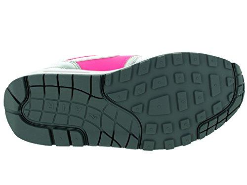 Nike Air Max 1 GS 653653108, Sneaker white-white-pink pow-cool grey (653653-108)
