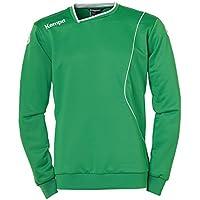 Kempa Curve Jersey de Entrenamiento, Hombre, Verde/Blanco, XL