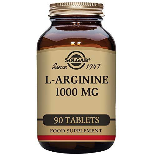 Solgar L-Arginina 1000 Mg - 90 Tabletas
