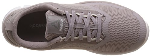 Reebok Sublite Authentic 4, Chaussures de Course Femme Multicolore (Grey/ash/coral)