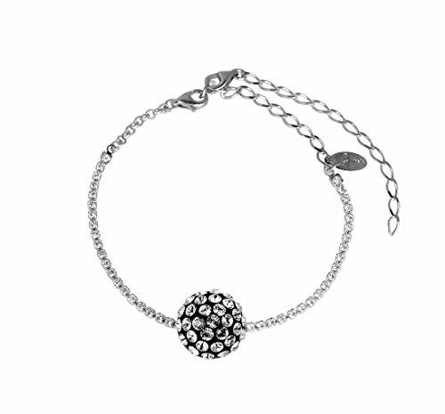 pulsera-catena-swarovski-crystal-blanco-con-mediabola-mini-metacrilato-diseno-italiano-fabricado-a-m