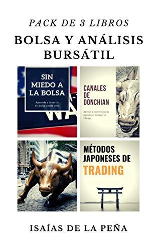 BOLSA Y ANÁLISIS BURSÁTIL: Pack 3 libros: Sin miedo
