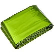 AceCamp Notfalldecke - Manta de emergencia, color verde