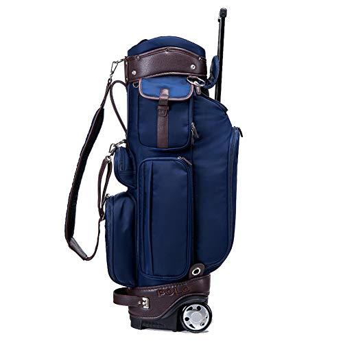 LXYIUN Golftasche,Licht Ziehen Sie Die Stange Fahrbar Golftasche