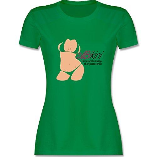 Abi & Abschluss - ABIkini - ein bisschen knapp - tailliertes Premium T-Shirt  mit