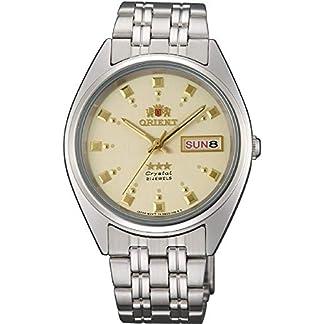Orient Reloj Analógico para Mujer de Automático con Correa en Acero Inoxidable FAB00009C9