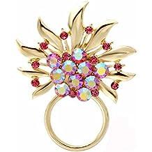 noumanda cristal violet étoile clip magnétique support pour lunettes de soleil magnétique porte lunettes en forme de broches 1LoyI