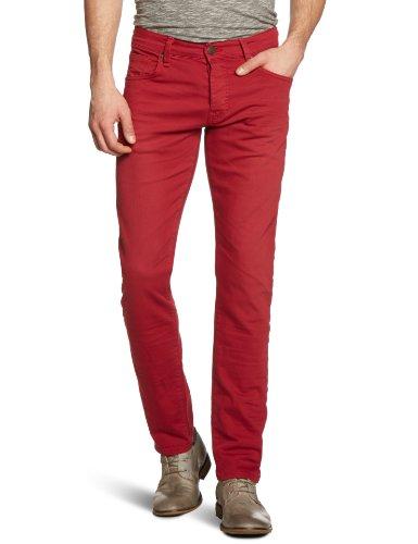 Mavi Herren Jeans Normaler Bund YVES; Wine STR; 0024314243, Gr. 32/32, Rot (14243; YVES; Wine STR) Ag Jeans Low Rise Jeans