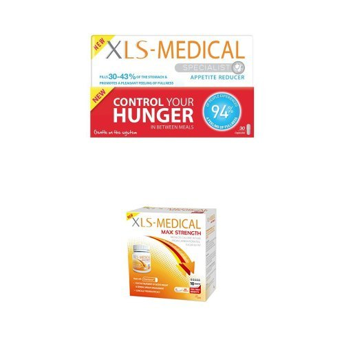 XLS Medical Appetite Reducer & Max Strength Diet Pills – 10 Day Supply