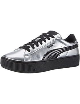 Puma Damen Vikky Platform Metallic Sneakers